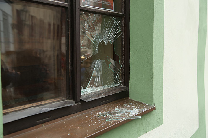 A2B Glass are able to board up broken windows while they are being repaired in Kidbrooke.